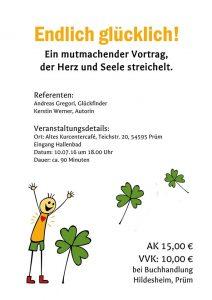 Der Glückfinder zu Gast in Prüm bei Kerstin Werner @ Altes Kurcentercafé | Prüm | Rheinland-Pfalz | Deutschland
